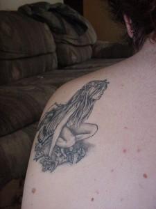 tatouage fée