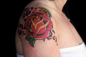 Le tatouage rose