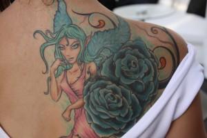 tatouage elfique